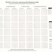 钢中非金属夹杂物含量测定评级图(美标号:E45)