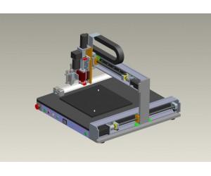 D-200C桌面式全自动点胶机械手